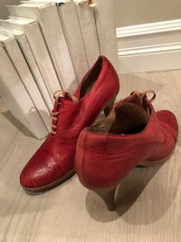 Shoe Embassy Leather Booties Size 39 Vancouver