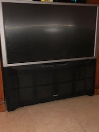 Gray rear-projection tv Apple Valley, 92307