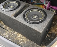 "Kicker Comps, 10"" with ported box Ward, 72176"