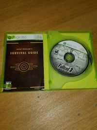 Xbox 360 The Elder Scrolls V Skyrim game disc Toronto