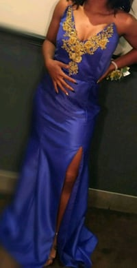 Blue prom dress/gown