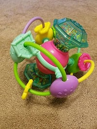 toddler's green and purple plastic toy Gaithersburg, 20878