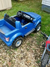 blue and black ride-on toy car Chesapeake