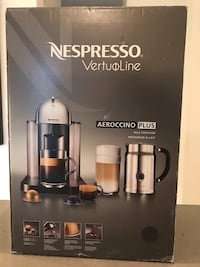 Nespresso VertuoLine BRAND NEW in box. Perfect Christmas gift! Sells for $300 on Amazon Toronto, M6R 1Z8