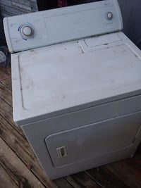 white front-load clothes dryer Rome