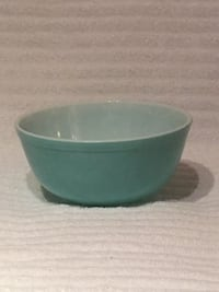 Vintage Pyrex Primary Green Mixing Bowl from 1940s—Numbered 403 Vienna, 22180