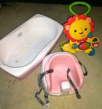 Bathtub and see what a toddler's push toy clean  Grove City, 43123