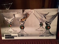 Four Martini Glasses ARLINGTON