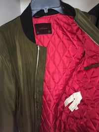 [ONLY WORN ONCE] Zara Mens Bomber Jacket (Size Small) London, N6G 0S5