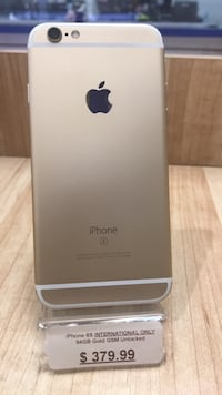 iPhone 6S International Only 64GB Gold GSM Unlocked  Norcross, 30071