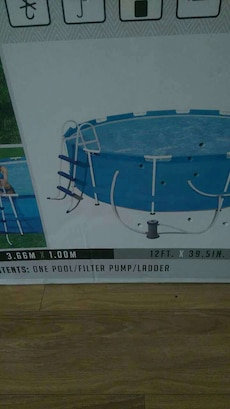 above ground pool best offer takes it!!!