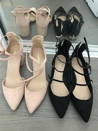 ALDO shoes size 7.  37.5 both for 70