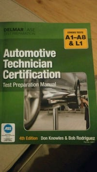 AUTOMOTIVE TECHNICIAN CERTIFICATION BOOK