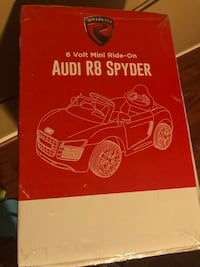 Audi R8 Spyder perfect gift for Christmas Cypress, 77433