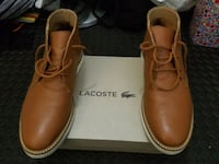 Lacoste leather boots - US 8.5 Toronto, M6J 0A9