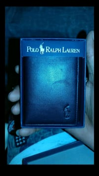 Polo Ralph Lauren Cordoba trifold leather wallet River Rouge