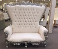 King Throne Chair 6 ft Tall ($1499) Any colors we offer Finance $42 down take at Home !!!  Ask me how you can take the finance !!!  Houston, 77080