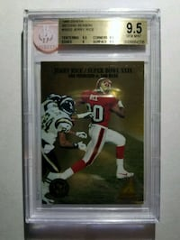 1995 Zenith Second Season 22 Jerry Rice (BGS 9.5) Woodmore, 20721