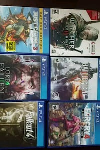 PS4 Six game bundle Fairfax, 22033