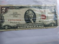 2 dollar red seal San Antonio