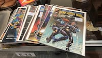 Selection of comic books number 1 editions booth e14 flying moose antique mall 9223 w Kellogg wichita Wichita, 67209