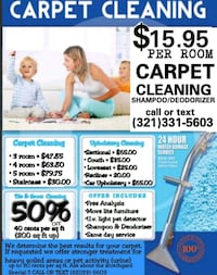 Carpet cleaning Winter Park, 32792