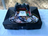 Xbox with 5 games and 1 controllers Fresno, 93702