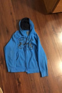 New condition boys old navy large (10-13 yrs )fleece zipper hoodie