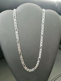 Brand new Sterling silver Figarucci chain Burnaby, V3J 1S3