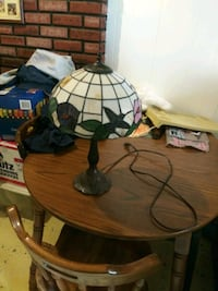 Antique lamp with stain glass shade Baltimore, 21230