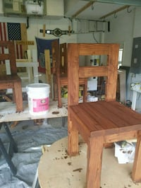 Finished rustic chairs North Port, 34286