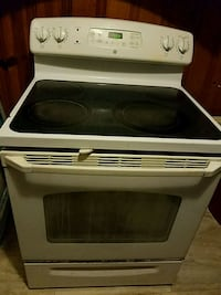 white and black induction range oven Columbia, 29203