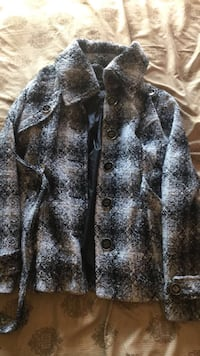 gray and black button-up jacket Colorado Springs, 80906