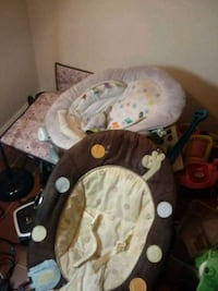plush baby bouncy chairs plus toys and pack n play Greenbelt, 20770