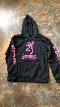 Black and pink hoodie Norwich, 06360