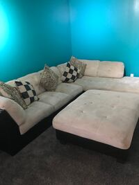 """Two tone Sectional """"L"""" shape couch Calgary, T3E"""