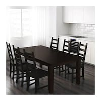 Extendable kitchen table and 4 chairs Brookhaven, 30329