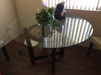 Glass kitchen table Las Vegas, 89119