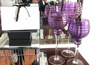 Purple Candle Holders Bombay Vaughan, L4H 0C8
