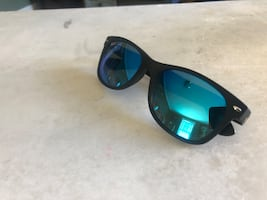 Ray Bans, practically brand new. Worn only 2 times.