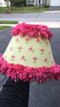 Cute lamp shade - height is 8 inches  Frederick, 21701