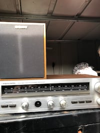 Vintage gray and brown realistic av receiver Redwood City, 94061