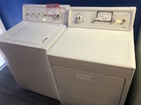 Kenmore top load washer and dryer set in perfect condition