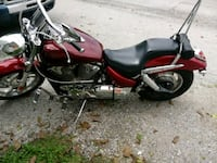 red and black cruiser motorcycle Catonsville, 21228