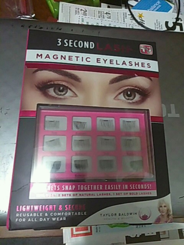 Magnetic Eyelashes box