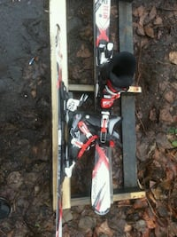 Nordica Tecnopro boots and skis Burnaby, V3J 1N5