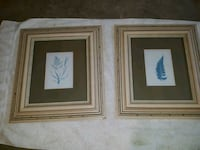 Blue Flower Picture frames 10x12 Frederick