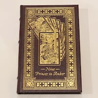 Nine Princes in Amber Leather Bound Collectors Edition Book San Marcos, 92078