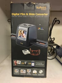 Vupoint digital film and slide converter American Canyon, 94503