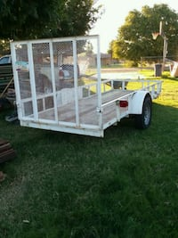 white and brown utility trailer Coolidge, 85128